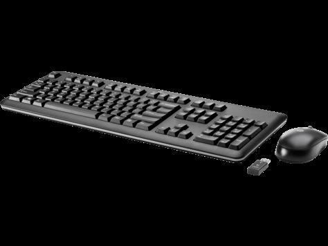 Беспроводные клавиатура и мышь HP