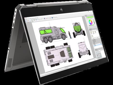 HP ZBook Studio x360 G5 konverterbar arbeidsstasjon