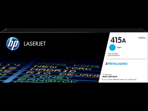 HP 415A Cyan Original LaserJet Toner Cartridge