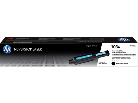 Kit de recarga de tóner original HP Laser 103A negro