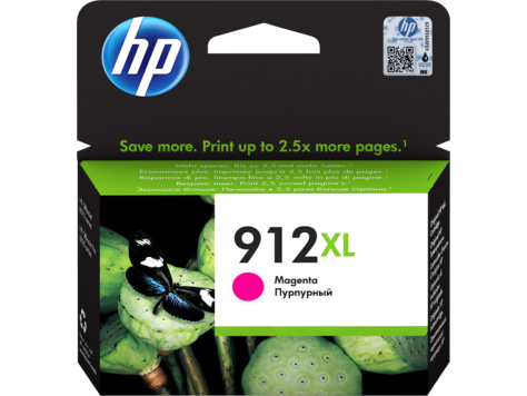 HP 912XL nagy kapacitású bíbor eredeti tintapatron