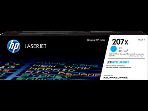 HP 207X ciánkék nagy kapacitású eredeti LaserJet tonerkazetta