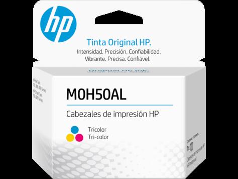 Cabezal de impresión HP GT M0H50A de sustitución, tricolor