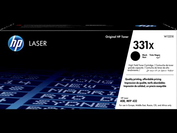 HP 331X, оригинальный лазерный картридж увеличенной емкости,черный